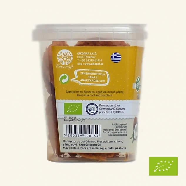 Biscuiti cu nuca de cocos  ECO