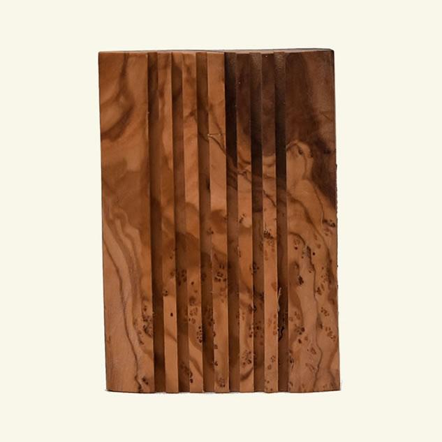 Savoniera dreptunghiulara lemn maslin
