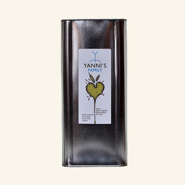 Ulei de masline Yanni`s Family Agoureleo 5L