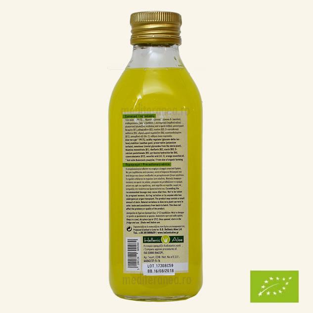 Suc din Aloe Vera cu Portocale