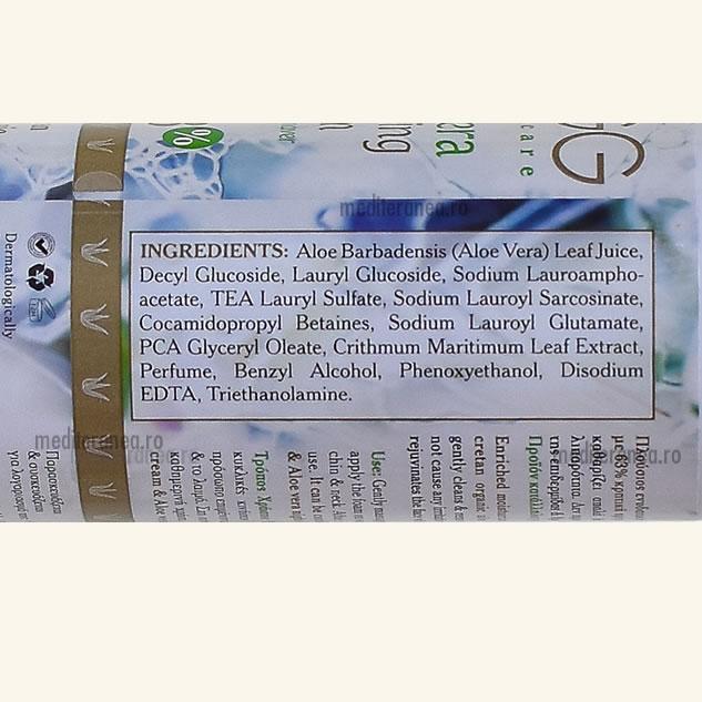 Demachiant cu 63% Aloe Vera Organica