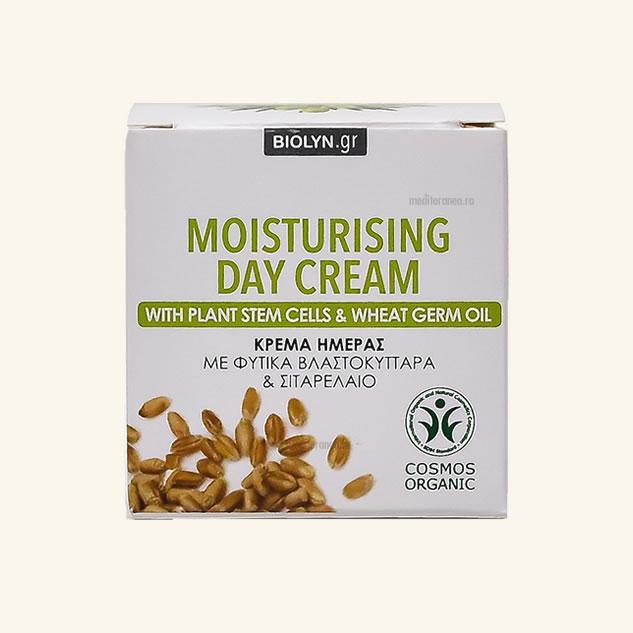 Crema hidratanta de zi cu celule stem din plante & ulei din germeni de grau