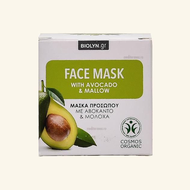 Masca faciala cu avocado & nalba de padure