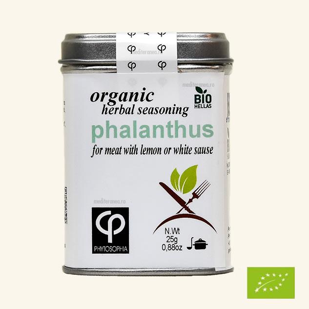 Phalanthus - Mix de plante BIO - pentru prepararea carnii cu lamaie sau a sosurilor albe