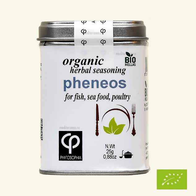 Pheneos - Mix de plante BIO - pentru prepararea pestelui, fructelor de mare, carnii de pasare