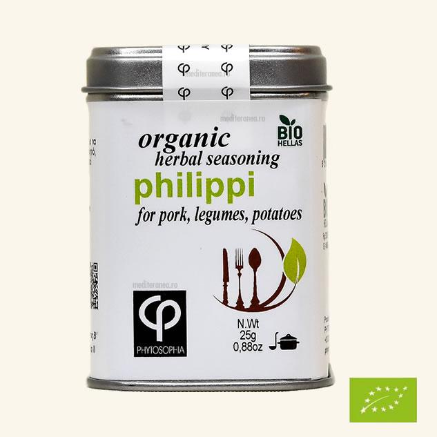 Philippi - Mix de plante BIO- pentru prerararea carnii de porc, legumelor, cartofilor