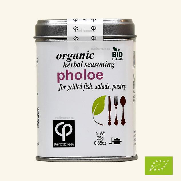 Pholoe - Mix de plante BIO - pentru prepararea pestelui la gratar, salatelor, produselor de patiserie