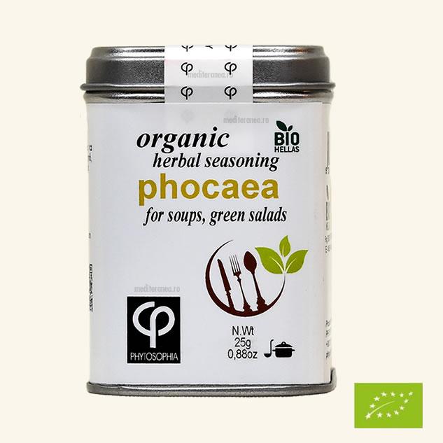 Phocaea - Mix de plante BIO - pentru prepararea supelor si a salatelor verzi