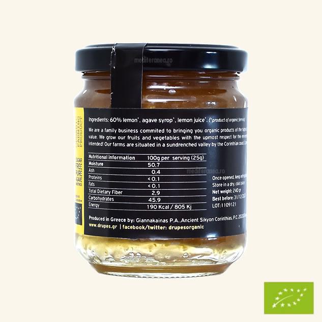 Marmelada de lamaie BIO fara zahar