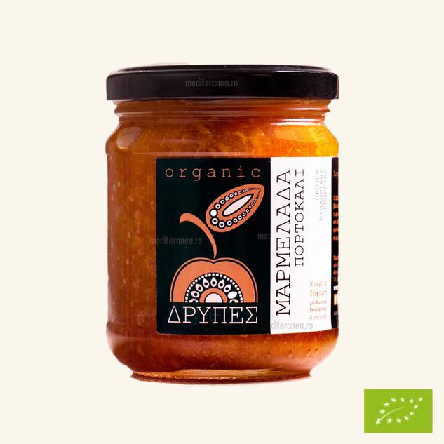 Marmelada de portocale BIO fara zahar