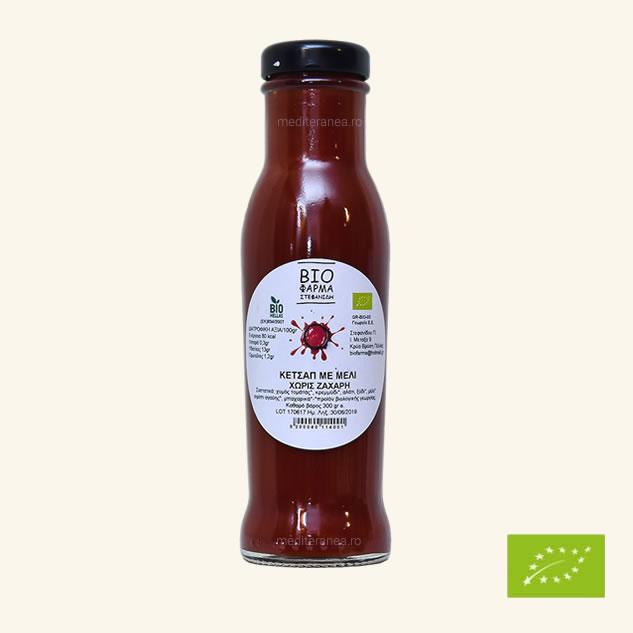 Ketchup cu miere fara zahar BIO