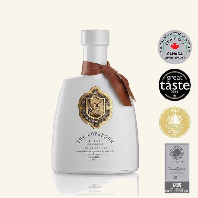 Ulei de masline extravirgin nefiltrat The Governor Premium Limited Edition