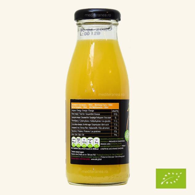 Suc din portocale BIO 250ml