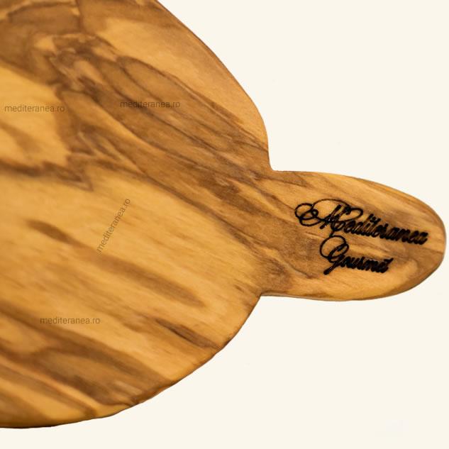 Tocator para din lemn de maslin