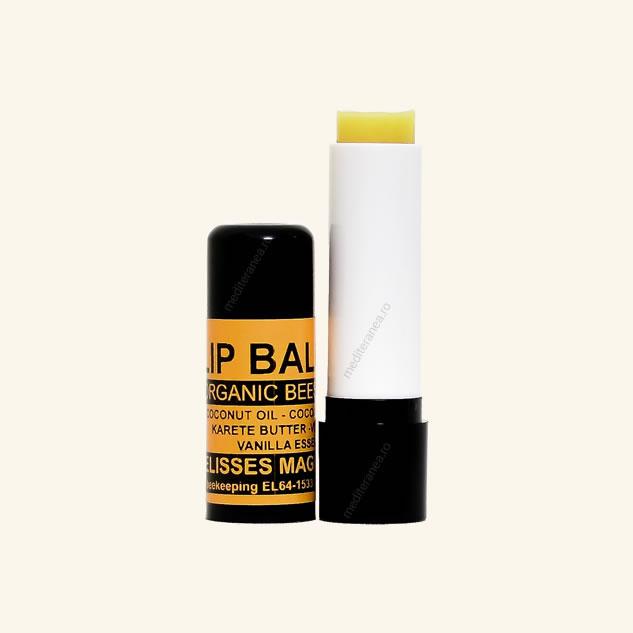 Balsam de buze cu ceara de albine organica