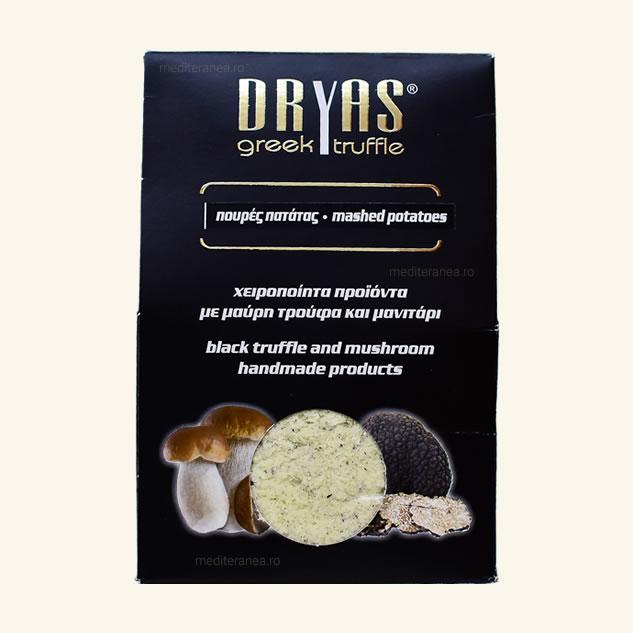 Piure de cartofi cu trufe negre si ciuperci