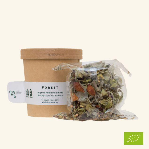 ceai Forest - Amestec de plante BIO