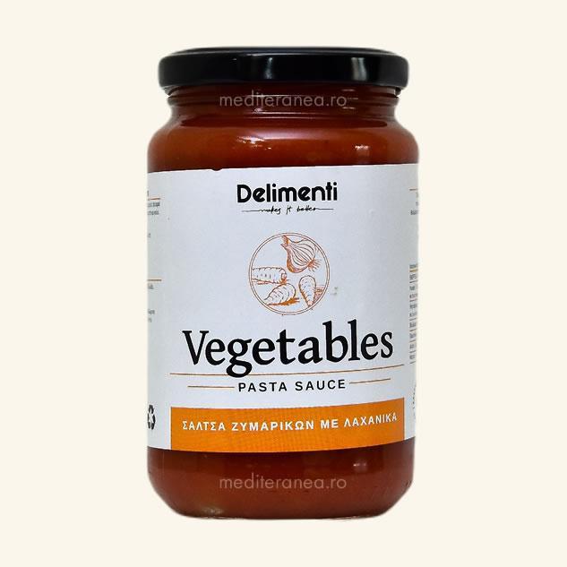 Sos cu legume pentru paste