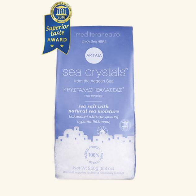 Cristale de sare din Marea Egee 250g