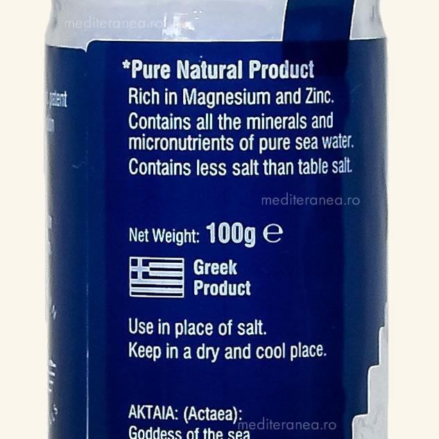 Cristale de sare din Marea Egee