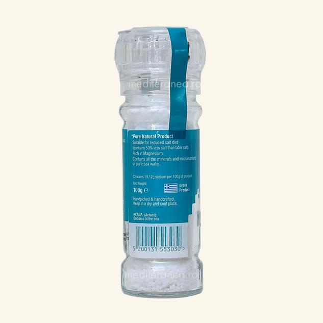 Cristale de sare din Marea Egee cu continut redus de sare