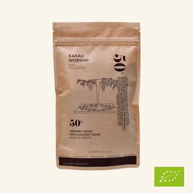 Pudra de cacao cu zahar de cocos BIO