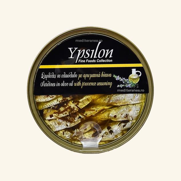Sardine in ulei de masline cu ierburi Provence
