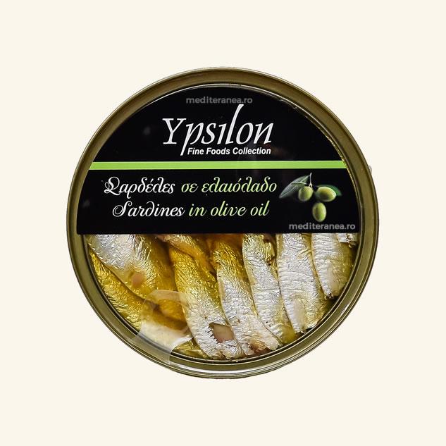 Sardine in ulei de masline