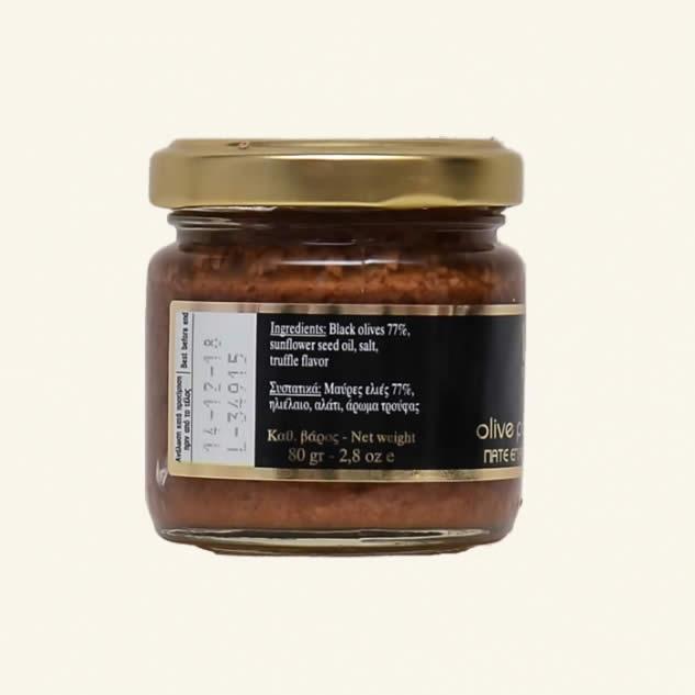 Pasta de masline cu aroma de trufe negre