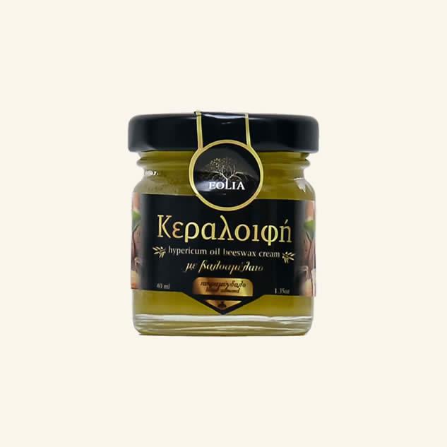 Crema cu ulei de sunatoare, ceara de albine si migdale amare